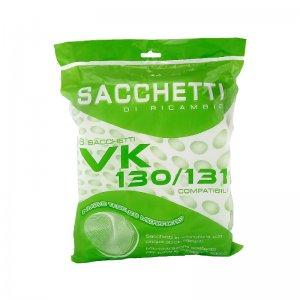 Sacchetti Microfibra 6 pezzi per Folletto VK130 VK131