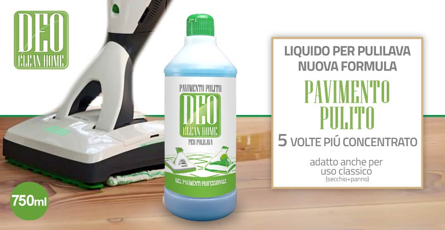 PAVIMENTO PULITO LIQUIDO DETERGENTE PAVIMENTI