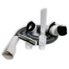 NuovoTubo flessibile bianco con bocchette per Folletto VK150 VK200