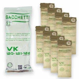 Sacchetti 8 pezzi per Folletto VK120 VK121 VK122