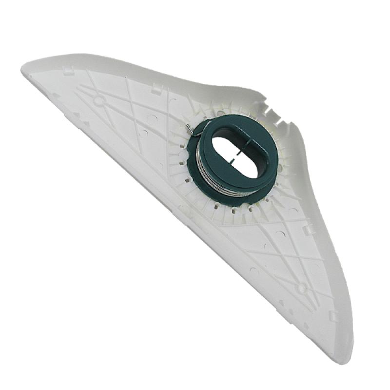 Scocca portaspazzola anteriore bianca HD40