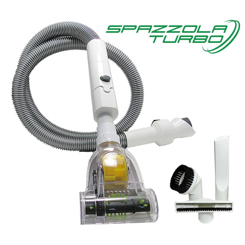 Spazzola Turbo con tubo e bocchette