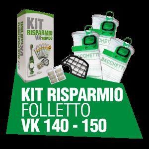 KIT RISPARMIO FOLLETTO VK 140 150