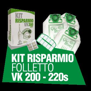 KIT RISPARMIO FOLLETTO VK 200