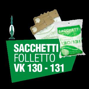 SACCHETTI FOLLETTO VK 130 131